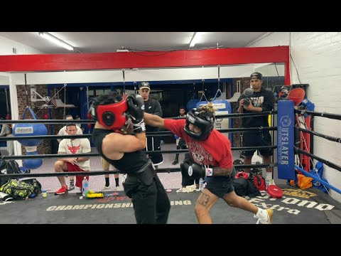 DDG vs. Pro Undefeated Boxer Sparring