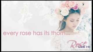 Lee Hi - Rose Easy Lyrics