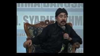 SYUKUR NIKMAT KH Syarif Rahmat di Pengajian Darma Bangsa Cirebon