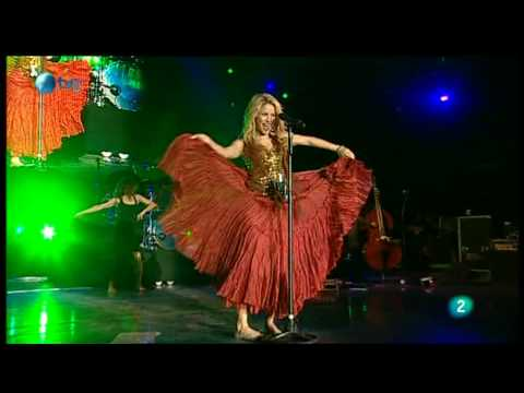 Shakira Gitana Rock in Rio Madrid 2010