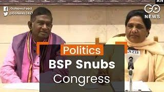 BSP Snubs Congress