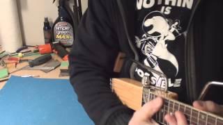 Ministar Jazzstar Travel Guitar