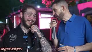 Post Malone TOO MUCH DRINK! MuchDank