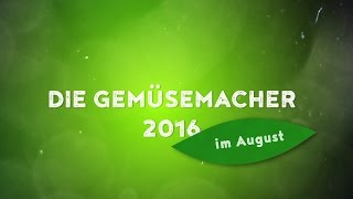 Die Gemüsemacher 2016 im August