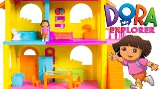 Dora The Explorer Play Dollhouse Casa de Dora La Exploradora Dora's House Playset Fisher Price Toys