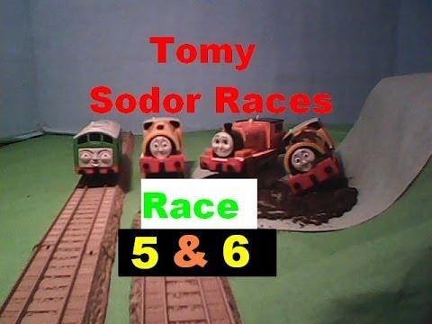 Tomy Sodor Races Round 1 Bill vs Boco & Ben vs Billy