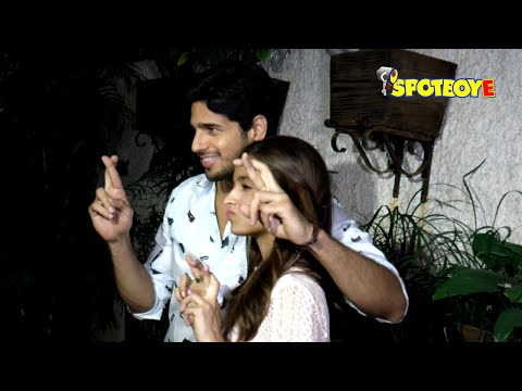 Xxx Mp4 Sidharth Malhotra Alia Bhatt Special Screening Of Kapoor Sons 3gp Sex