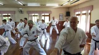 Karate Wado Ryu - Curso técnico - Gramado / RS (07/11/2015)  - com Sérgio Takamatsu-Sensei (7º Dan)