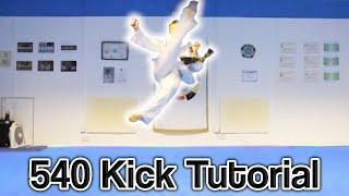 Taekwondo 540 Kick Tutorial | GNT