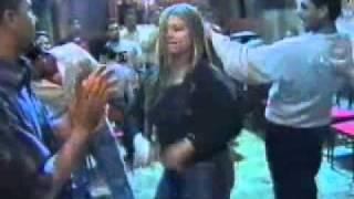 رقص فى فرح شعبى من عروس الصعيد  الجزء الثالث.