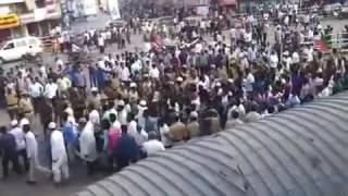 Shimoga fight live in shivappa nayaka circle