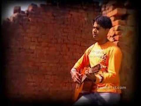 sri lankan music video - thusith - oba hera