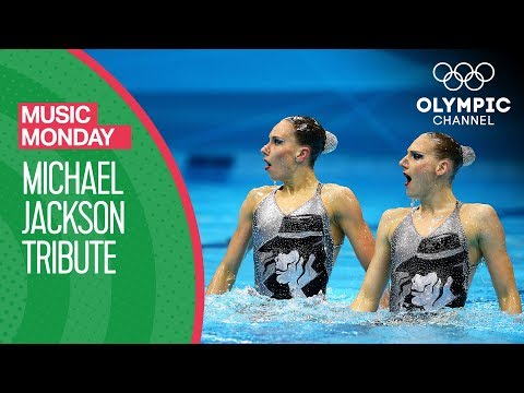 A Synchronised Swimming Tribute to Michael Jackson Music Monday