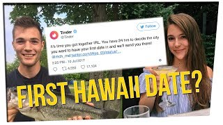 Tinder Sending Couple On Their First Date! ft. Yoshi Sudarso & DavidSoComedy