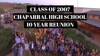 Class of 2007 Chaparral High School 10 year Reunion