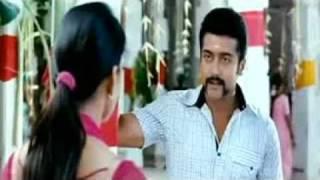 Singam-  Surya slaps Anushka in tiger disguise ★☆~♫ ♥ ♫~