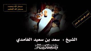 سورة الملك - سعد الغامدي  Quran karim Sourat Al - mulk Saad Alghamidi