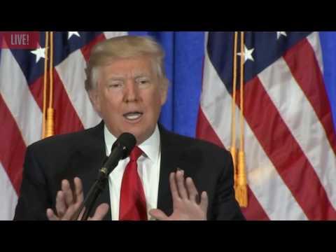 watch President Donald Trump Slams CNN and calls them Fake News!!!