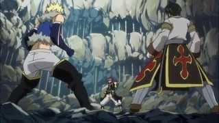 Natsu vs Sting & Rouge - Breaking Through [AMV] (Fairy Tail)