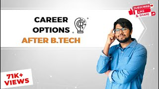 Career options after B.Tech (Engineering): Keynote speaker Aamir Qutub  Motivational Career Talk