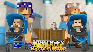 Minecraft - Little Kelly : BRING OUR BABY BROTHERS HOME!