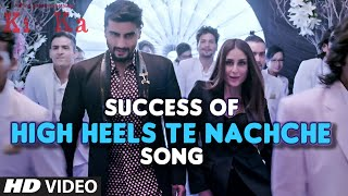 HIGH HEELS TE NACHCHE Video Song SUCCESS | KA & KI | Meet Bros ft. Jaz Dhami | Yo Yo Honey Singh