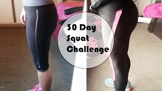Results Of Doing The 30 Day Squat Challenge