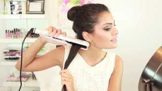 How to Straighten Your Hair with a Hair Straightener / Flat Iron
