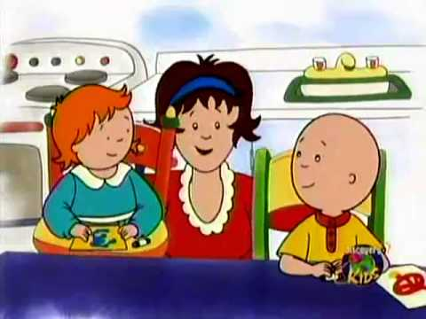 Caillou s Holiday Movie Part 2 of 5 English