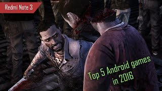 Top 5 Best NEW Android Games of 2016 [ Redmi Note 3 ]