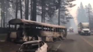 BREAKING California getting cooked Homes Vehicles hit by DEW Directed Energy Weapons ? 11/15/18