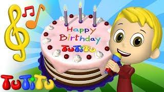 Songs & Karaoke for Children |  Birthday Cake | TuTiTu Songs