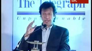Imran Khan  delivers the inaugural Tiger Pataudi Memorial Lecture