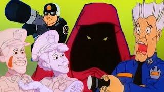 كرتون أكاديمية الشرطة - الحلقة الثالثة 3 | الشبح