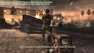 Call of Duty 4 Modern Warfare - Acto I - Misión 3: El pantano (Español)