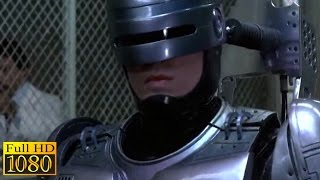RoboCop (1987) - Detroit Police Department Meets RoboCop Scene (1080p) FULL HD