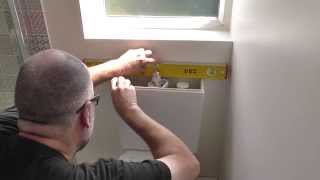 DIY: How to install a new toilet (cistern and pan)