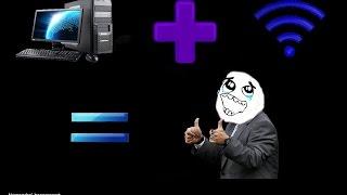 วิธีการเชื่อมต่อ wifi ในคอมพิวเตอร์ Pc