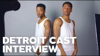 Algee Smith, Jacob Latimore, Kaitlyn Dever & Hannah Murray Interview Each Other & Talk DETROIT