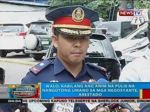BP: Walo, kabilang ang anim na pulis na nangotong umano sa mga negosyante, arestado