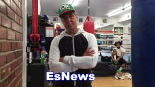 joe goossen on the new manny pacquiao king tug of mongolia EsNews Boxing