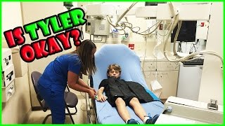TYLER ENDS UP IN THE HOSPITAL! | We Are The Davises