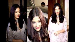 Aishwarya Rai Looks Completely DRUNK At Sridevi Birthday Party 2017