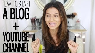 How To Start a YouTube Channel + Blog  | Beauty Blogger | Teni Panosian