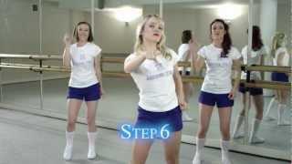 'Ai Se Eu Te Pego' - Dance Routine Tutorial