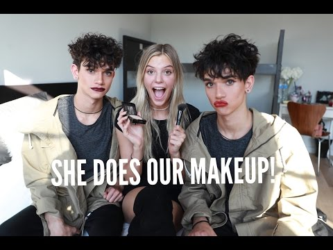 ALISSA DOES OUR MAKEUP