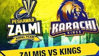Karachi Kings vs Peshawar Zalmi 3rd Match  Live Cricket