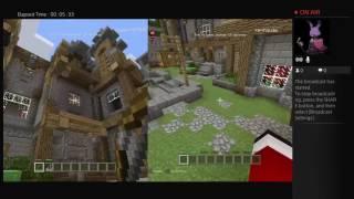 Bannana boy 77 w/Dadmompoo Minecraft!