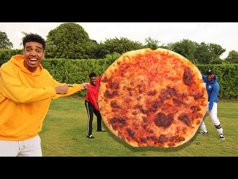 Who Can Make The BIGGEST FOOD Challenge GIANT PIZZA