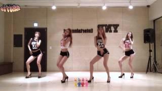 BESTie - Hot Baby - mirrored dance practice video - 베스티 핫 베이비 안무 영상
